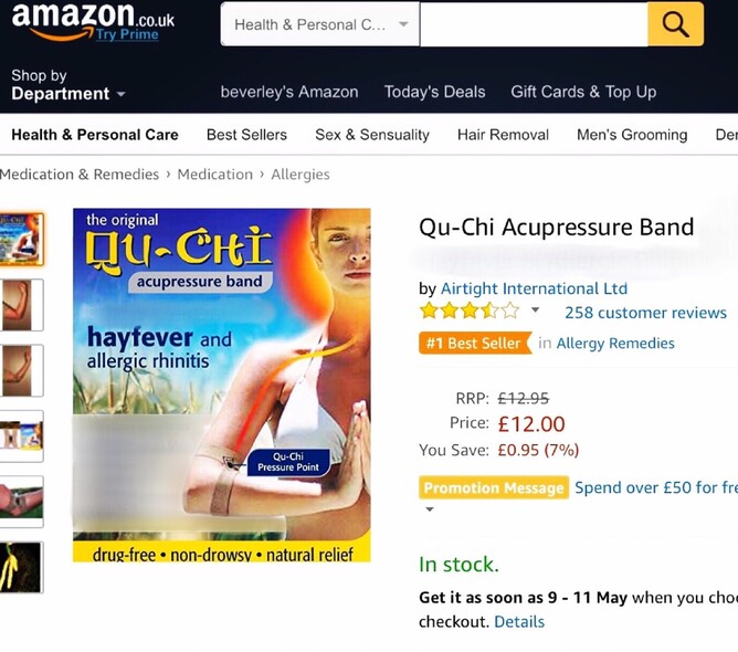 Qu-chi hay fever band best seller