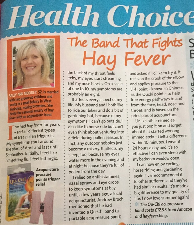 Hay fever band review